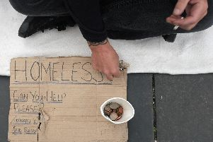 Most of the beggars and street drinkers in Wakefield are not homeless.