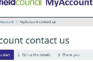 MyAccount can be used to access a number of council services.