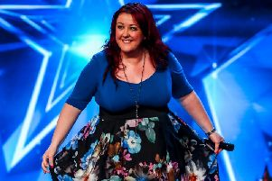 Wakefield's Siobhan Phillips on Britain's Got Talent. Credit: ITV / Syco / Thames