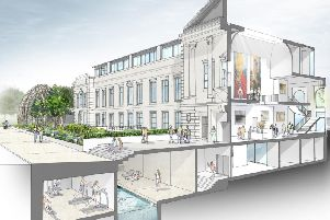 Part of Harrogate developer Adam Thorpe's vision for Crescent Gardens with its well-being centre underground.
