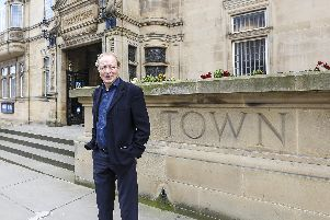 Bill Grimsey met with Wakefield's councillor and businesses.