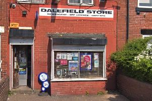 Dalefield Store in Normanton