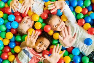 A recent study has now revealed that ball pits can contain a variety of different bacteria (Photo: Shutterstock)