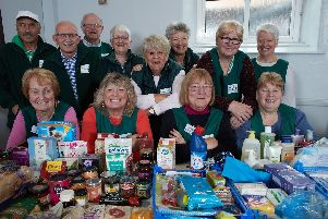 Knottingley Food Bank say referrals are on the rise.