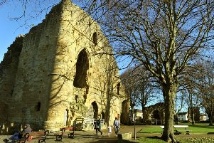 Knaresborough Castle will be pretty in pink next month as part of the campaign.