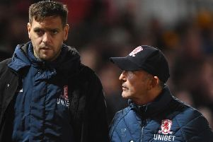 Jonathan Woodgate is the favourite to replace Tony Pulis as Middlesbrough boss.