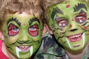 Face painting is just one of many activities being held over the next couple of weeks.