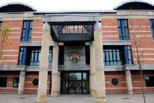 Patrick Rooney, 35, was found drunk sitting against a wall in Fletcher Walk, Hartlepool, late at night on December 19 last year with a four-inch knife blade.