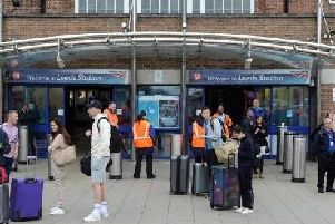 Services in and out of Leeds Station are expected to be disrupted for the majority of today.
