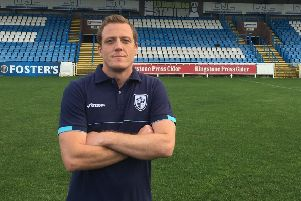 Featherstone Rovers head coach, Ryan Carr.