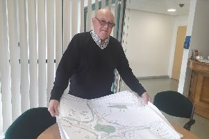 County Coun Stephen Clarke is advising residents about the drop-in sessions which will offer information about key road works at Norcross