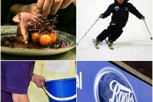 A chef, SnoZone staff, cleaners and Boots staff are all needed.