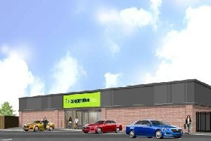 An artist's impression of the planned Co-op.