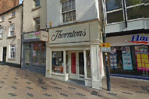 Thorntons, on Westgate, will close on Sunday, June 22. Picture: Google Maps.