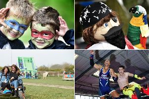 From scarecrows to wrestling, there's something for everyone this weekend.