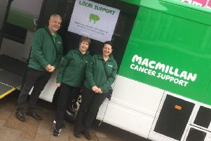 MacMillan mobile information and support team.
