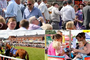 Abba, racing, family day, beer festival AND lookalikes Kylie, Olly Murs and Take That will all be hosted by Pontefract Races this month.