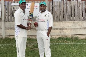 Connor Williams, who hit 126, and Museji Bhoola, who took 5-13, in top of the table Kippax first team's 206-run victory over third-placed Barwick in the Wetherby League first division.