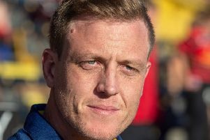 Featherstone Rovers head coach Ryan Carr.