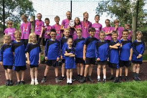 The pupils finished in first place in the Harrogate Sports Partnership Small Schools League.