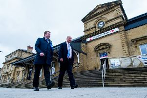 Plans: Toilets could be installed at Wakefield Kirkgate station.