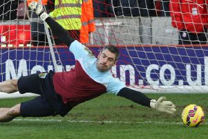 Matt Gilks looks set to be named on the bench for Fleetwood Town's trip to Doncaster Rovers