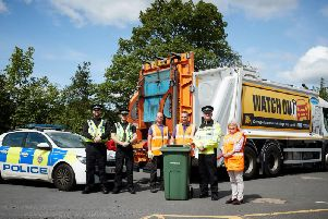 Impatient motorists who endanger the lives of bin lorry workers are being warned they could face jail in a new crackdown launched between Wakefield Council and the police.