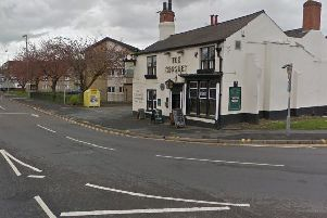The accident happened outside the pub (Google Maps)