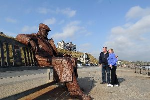 10 sculptures by the artist who made Freddie Gilroy on Scarborough's North Bay