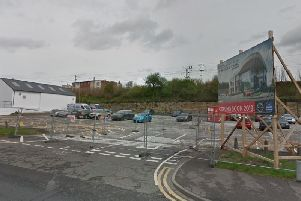 The former car park and lorry park off Quebec Street. (Google Maps)