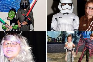 Whether you're a Jedi or Stormtrooper, there was a whole day for Star Wars fans to channel their inner George Lucas on Sunday in Wakefield city centre.