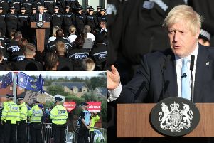 His speech was met with anger by a number of Yorkshire MPs. (Getty Images)