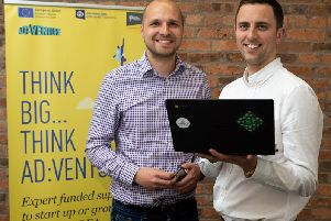 Mark Langdale (left) and Andy Jack (right) from Candle Digital