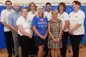 Bridlington Heart Screening Day has received a welcome �2,500 donation thanks to Tesco's Bags of Help Scheme.