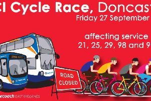Stagecoach bus services will be affected by the race