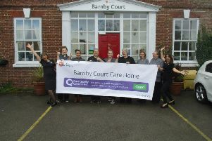Barnby Court Care Home are celebrating after its latest Care Quality Commission (CQC) inspection.