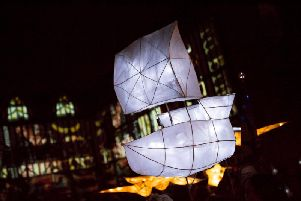 Illuminate events will mark the start of the Mayflower 400 events. Photo: Electric Egg