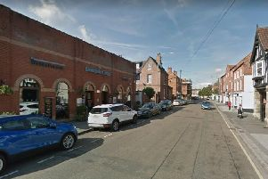 The 'large-scale' fight happened in the car park of this Retford pub. Pic: Google Images.