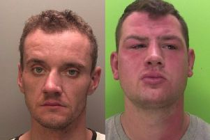 Lukasz Orywal (left) and Andrew Hurns previously admitted causing death by dangerous driving.