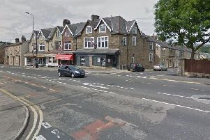 Burnley Road and Victoria Road in Padiham
