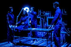 Coming to Harrogate this weekend - Tmesis Theatres latest mind-bending show Beyond Belief. (Picture by Andrew Ness Photos)