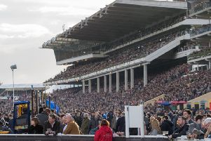 Gold Cup Day at last year's Cheltenham Festival. (PHOTO BY: Matt Cardy/Getty Images)