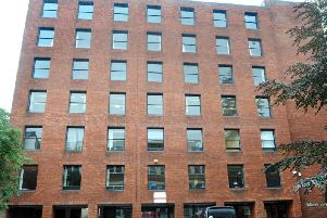 Winkley House in Preston, pictured when it was offices for Lancashire County Council.   When it was sold off for apartments, it made money both for County Hall and Preston City Council.