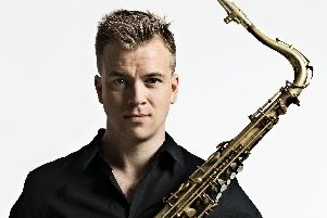 Norwegian musician Marius Neset plays the Grand Theatre, Clitheroe, on The Ribble Valley International Jazz Festival, May 2- May 6. (s)