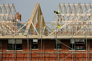 Building started at 1,410 sites in the East Riding in 2018. Photo: PA Images