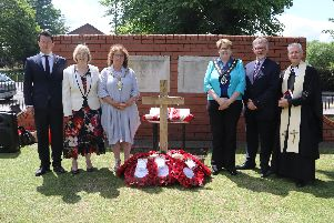 Community leaders, organisations and individuals gathered in the Memorial Gardens in Worksop to mark 75 years since D-Day.