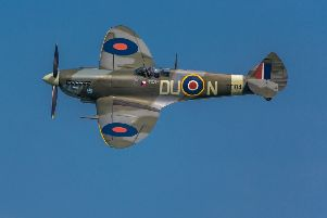 Spitfires in WWII were powered by Merlin engines built in Nottinghamshire
