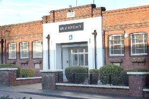 The Burberry site in Castleford, West Yorkshire.