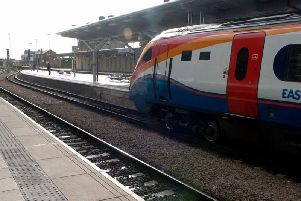 An East Midlands Trains train.