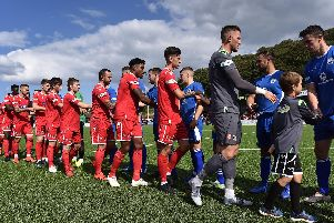 Scarborough Athletic 1-1 Buxton / Pictures by Richard Ponter